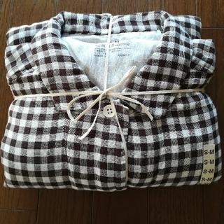 MUJI (無印良品) - MUJI無印良品   脇に縫い目のない四重ガーゼパジャマ