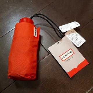 ハンター(HUNTER)のハンター 折り畳み傘 オレンジ 新品未使用(傘)