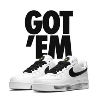 ナイキ(NIKE)のNIKE×G-DRAGON AIR FORCE 1 PARANOISE 27.5(スニーカー)