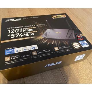 エイスース(ASUS)のASUS製 WiFi6対応 次世代無線LANルーター RT-AX56U(PC周辺機器)