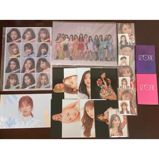 IZ*ONE トレカ ファイル ポストカード セット