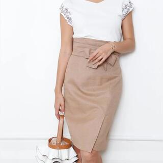 JUSGLITTY - ジャスグリッティー  サッシュベルト付2wayタイトスカート