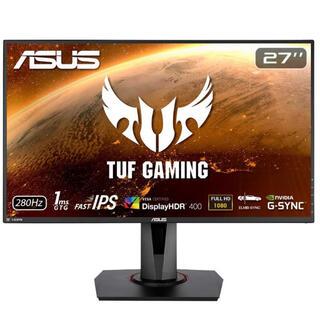 エイスース(ASUS)のASUS TUF Gaming ゲーミングモニター VG279QM 27インチ(PC周辺機器)
