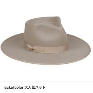 ルームサンマルロクコンテンポラリー(room306 CONTEMPORARY)のlack of color zulu rancher(ハット)