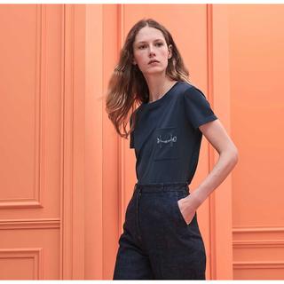 エルメス(Hermes)のエルメス HERMES 2020aw コットンTシャツ(Tシャツ(半袖/袖なし))
