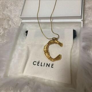 celine - 希少♡ セリーヌceline アルファベット ネックレス トップ チェーンセット