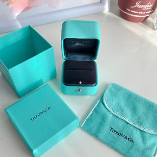 ティファニー(Tiffany & Co.)のティファニー 新型 エンゲージ リングケース ブルーボックス 空箱(ショップ袋)