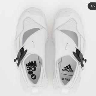 ハイク(HYKE)の【値下げ】HYKE adidasサンダル新品未使用(サンダル)
