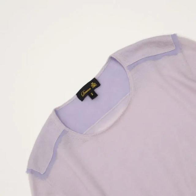 Drawer(ドゥロワー)のDrawer カシミヤニット レディースのトップス(ニット/セーター)の商品写真