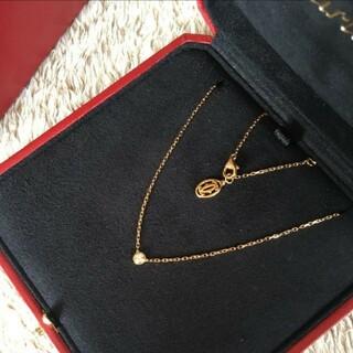 Cartier - Cartier 一粒ダイヤモンドネックレスカルティエ ネックレス