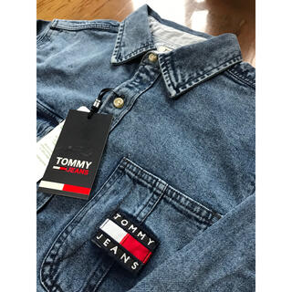 TOMMY HILFIGER - トミージーンズ Sサイズ 新品未使用 デニム シャツ TOMMY JEANS