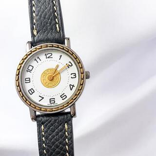 Hermes - 【仕上済/ベルト2本】エルメス セリエ コンビ レディース 腕時計