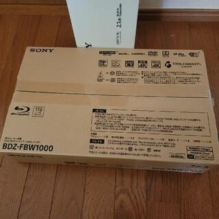 SONY - ソニー SONY BDZ-FBW1000 新品
