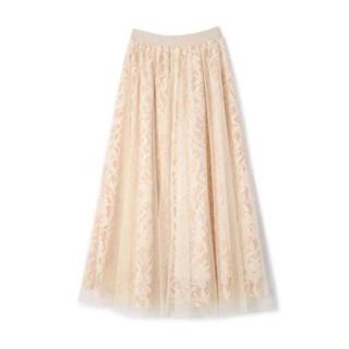 プロポーションボディドレッシング(PROPORTION BODY DRESSING)の♡チュールレーススカート♡(ロングスカート)