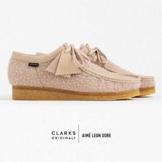 Clarks - Clarks Aime Leon Dore ワラビー ベージュ 27.0