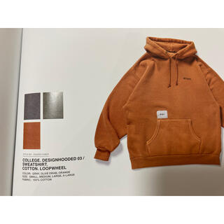 W)taps - Wtaps college design hooded 03 orange M
