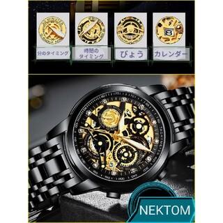 メンズ腕時計 機械式 新品 高級ブランド NEKTOM 8202