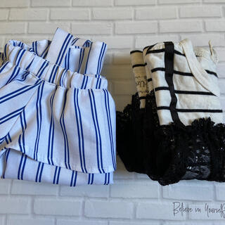 ビスチェ付Tシャツ♡オフショルシャツ 2枚セット(Tシャツ/カットソー)