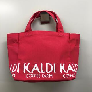 カルディ(KALDI)の【新品未使用】カルディ トートバッグ ピンク(トートバッグ)