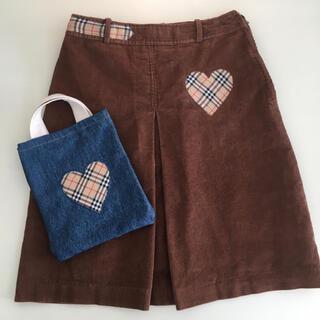 PANAMA BOY - コーデュロイ 台形 スカート ブラウン 茶色 古着 ヴィンテージ