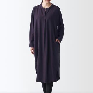 MUJI (無印良品) - 無印良品 新疆綿フランネルワンピース