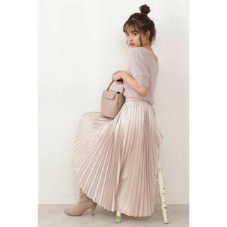 プロポーションボディドレッシング(PROPORTION BODY DRESSING)の♡シャイニープリーツスカート♡(ロングスカート)