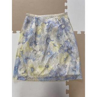 パターンフィオナ(PATTERN fiona)のパターンフィオナ 花柄スカート(ひざ丈スカート)