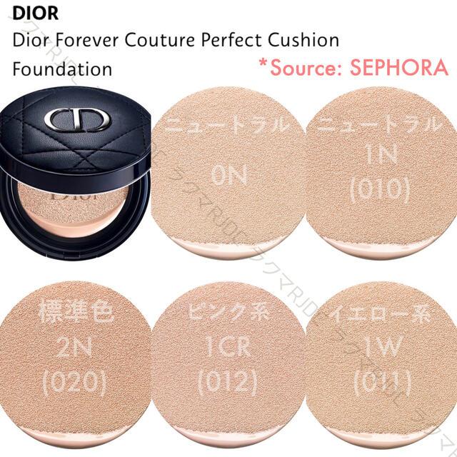 Dior(ディオール)の【新品箱なし】2N ディオールスキン フォーエヴァークッション 2020年新製品 コスメ/美容のベースメイク/化粧品(ファンデーション)の商品写真