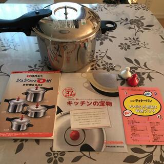 アサヒ軽金属 - アサヒ軽金属 活力なべ5.5リットル 活力鍋 圧力鍋 朝日軽金属 おせち作り