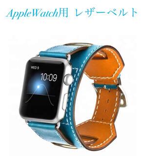 ☆アップルウォッチ ベルト リストバンド付 AppleWatch用ベルト(腕時計(デジタル))