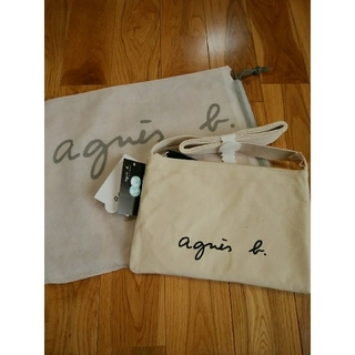 agnes b. - 新品★アニエスベーサコッシュショルダーバッグ アイボリー