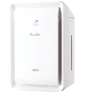フジツウ(富士通)の新品未使用PLAZION DAS-303K-W [ホワイト](空気清浄器)