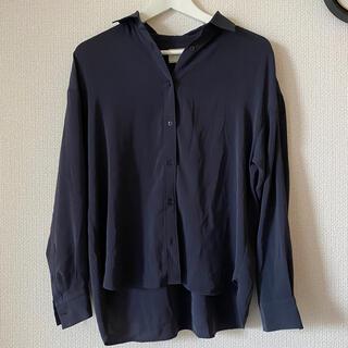 UNITED ARROWS - ユナイテッドアローズ とろみシャツ ブラウス