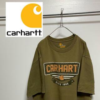 carhartt - carhartt カーハート ロゴ プリントTシャツ