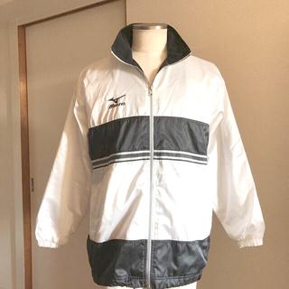 ミズノ(MIZUNO)のミズノ  ジャージ 襟にフード収納可能(ジャージ)