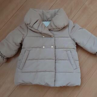 petit main - プティマイン 中綿コート キャメル 90
