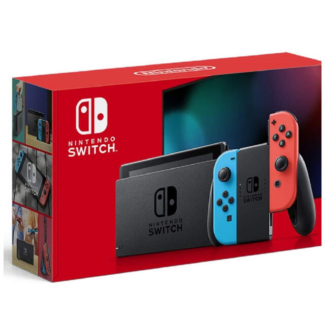 Nintendo Switch(ニンテンドースイッチ)の【新品未使用品】Nintendo Switch 本体 (ニンテンドースイッチ) エンタメ/ホビーのゲームソフト/ゲーム機本体(家庭用ゲーム機本体)の商品写真