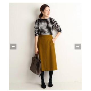 IENA SLOBE - SLOBE IENA モッサAラインスカート