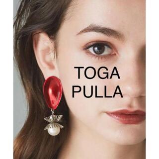 トーガ(TOGA)の新品 TOGA PULLA トーガ プルラ メタル パール イヤリング(イヤリング)