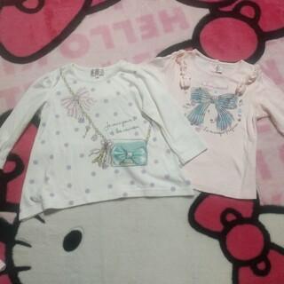 motherways - マザウェイズ 長袖チュニック風&長袖Tシャツ 2枚セット