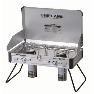 ユニフレーム(UNIFLAME)の【新品未開封】UNIFLAME US-1900 ユニフレーム ツインバーナー(調理器具)