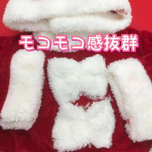 サンタ コスプレ キッズ 女の子 80 サンタ衣装 子供サンタクロース キッズ/ベビー/マタニティのベビー服(~85cm)(ワンピース)の商品写真