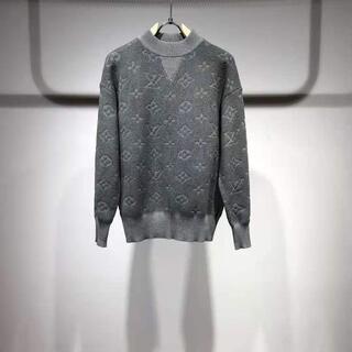 ルイヴィトン(LOUIS VUITTON)の☆LV☆ラウンドネックジャカードセーター(ニット/セーター)