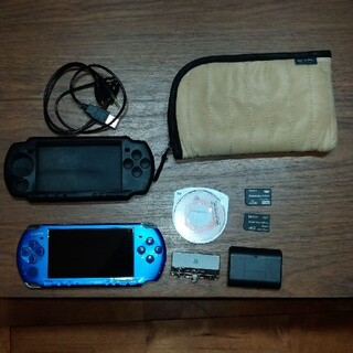 PlayStation Portable - PSP-3000 VIBRANT BLUE + ワンセグチューナー