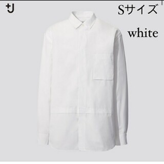 UNIQLO - ユニクロ スーピマコットン オーバーサイズシャツ S