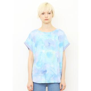 グラニフ(Design Tshirts Store graniph)のグラニフ  梅雨 あじさい Tシャツ 水彩画 絵本(Tシャツ(半袖/袖なし))