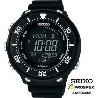 セイコー(SEIKO)のSEIKOプロスペックス SBEP013  LOWERCASE 【新品正規品】(腕時計(デジタル))