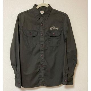 クーティー(COOTIE)の【送料無料】GLORYBOUND(COOTIE)刺繍ワークシャツ日本製サイズS(シャツ)