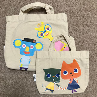 【未使用】ワールドワイドキッズ 親子ペアキャラクターバッグ