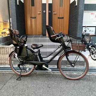 ブリヂストン(BRIDGESTONE)の豪華度120%❣️ハイディーB (改) ハイディー2仕様 子供乗せ自転車(自転車本体)